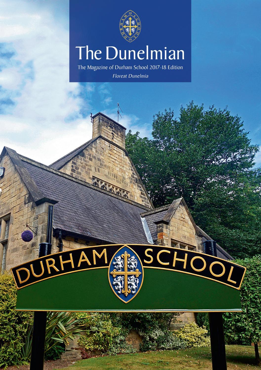 889877b940 Durham School by Remember Media limited - issuu