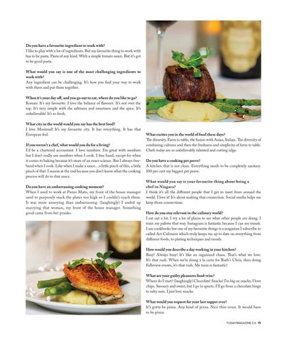 Page 15 of On The Table: A Chat with Chef Andy Di Pietro of Ruth's Chris Steakhouse