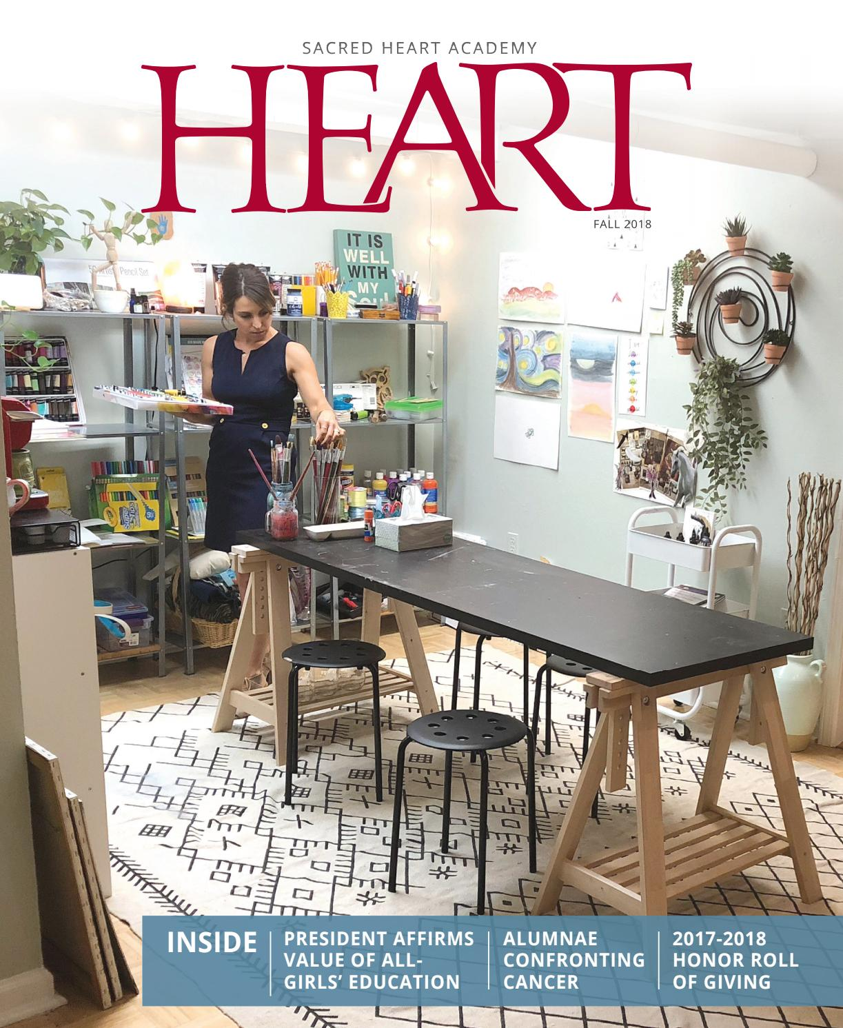 Heart magazine fall 2018 by sacred heart academy issuu