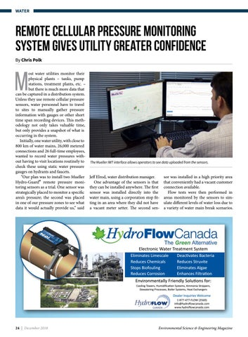 Page 24 of Remote cellular pressure monitoring system gives utility greater confidence