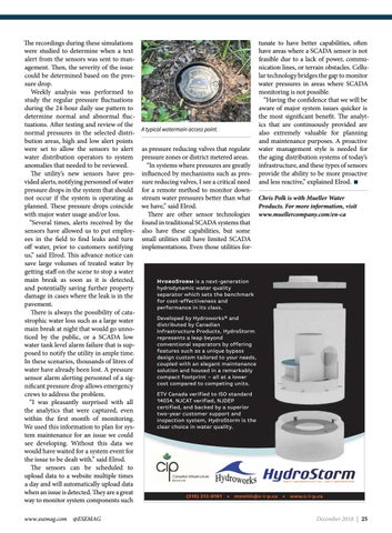Page 25 of Remote cellular pressure monitoring system gives utility greater confidence