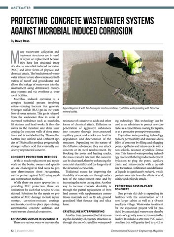 Page 32 of Protecting concrete wastewater systems against microbial induced corrosion