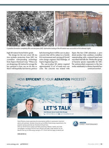 Page 33 of Protecting concrete wastewater systems against microbial induced corrosion