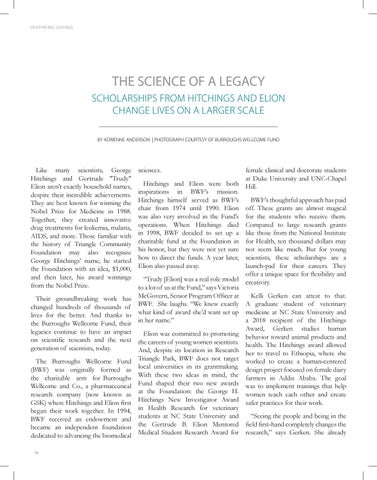 Page 14 of The Science of a Legacy