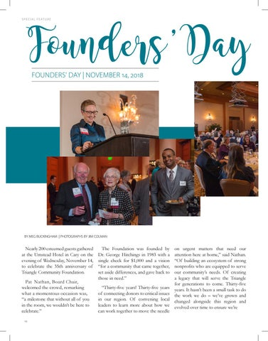 Page 16 of Founders' Day Celebration