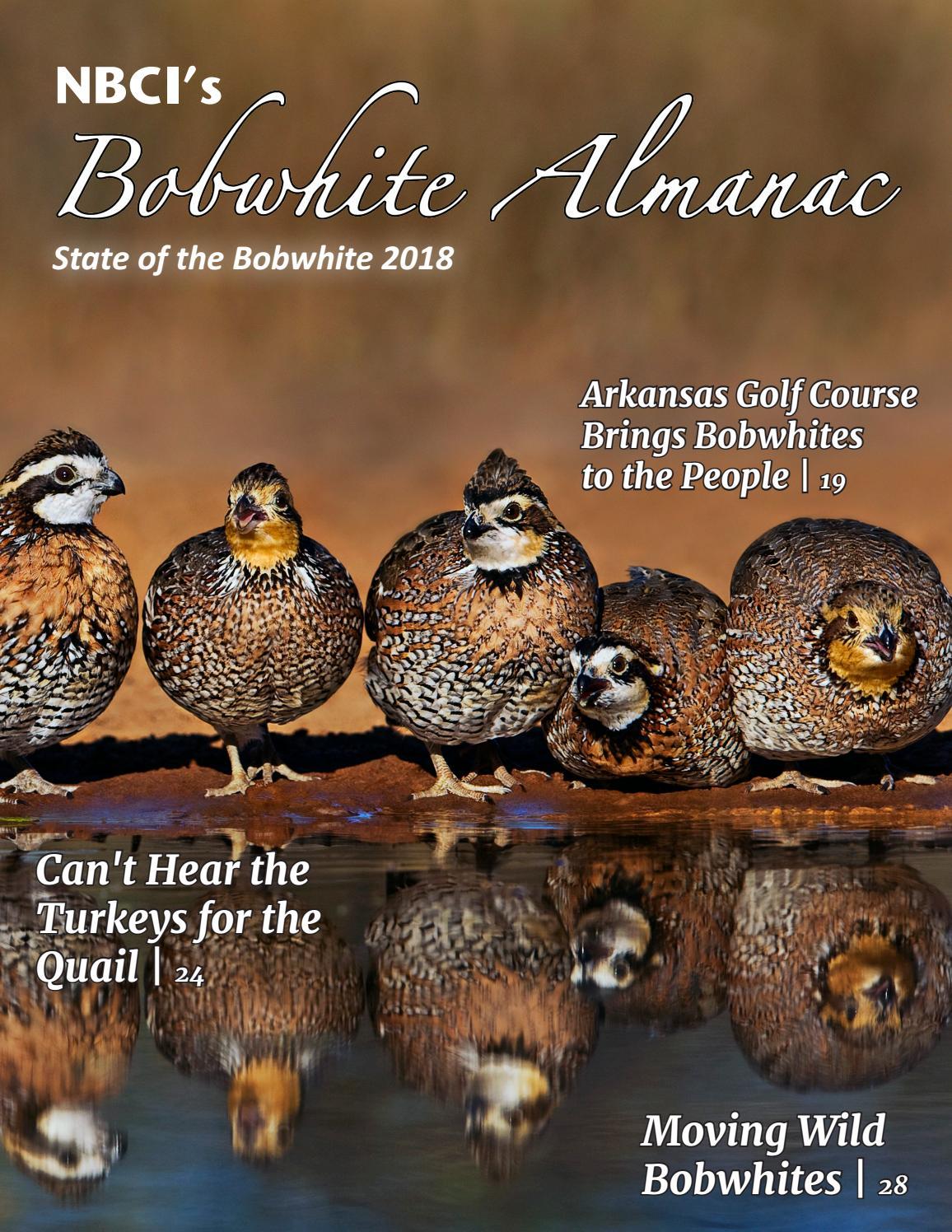 NBCI's Bobwhite Almanac, State of the Bobwhite 2018 by