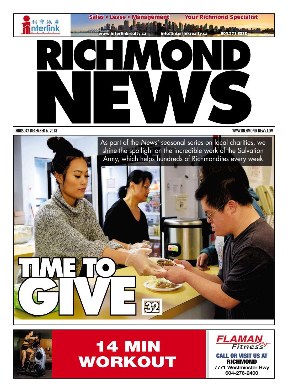 be4e6e28a5a Richmond News December 6 2018 by Richmond News - issuu