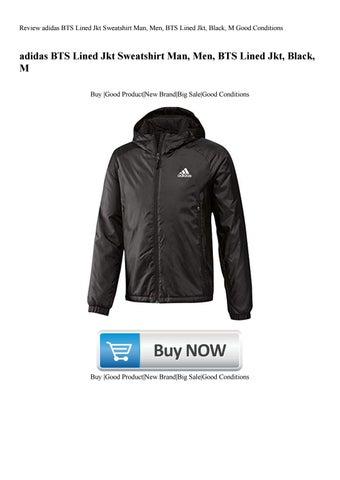 Review adidas BTS Lined Jkt Sweatshirt Man Men BTS Lined Jkt