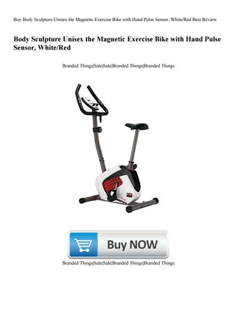 Buy Body Sculpture Unisex the Magnetic Exercise Bike with Hand Pulse