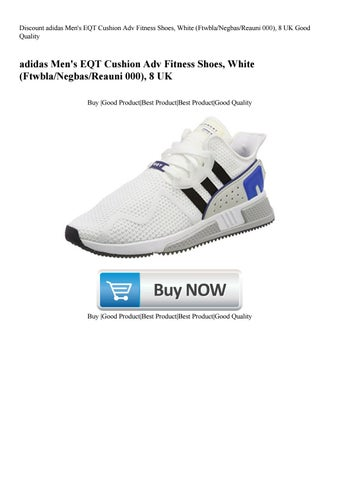 Discount adidas Men s EQT Cushion Adv Fitness Shoes White  (FtwblaNegbasReauni 000) 8 UK Good Quali eca9d4576b6