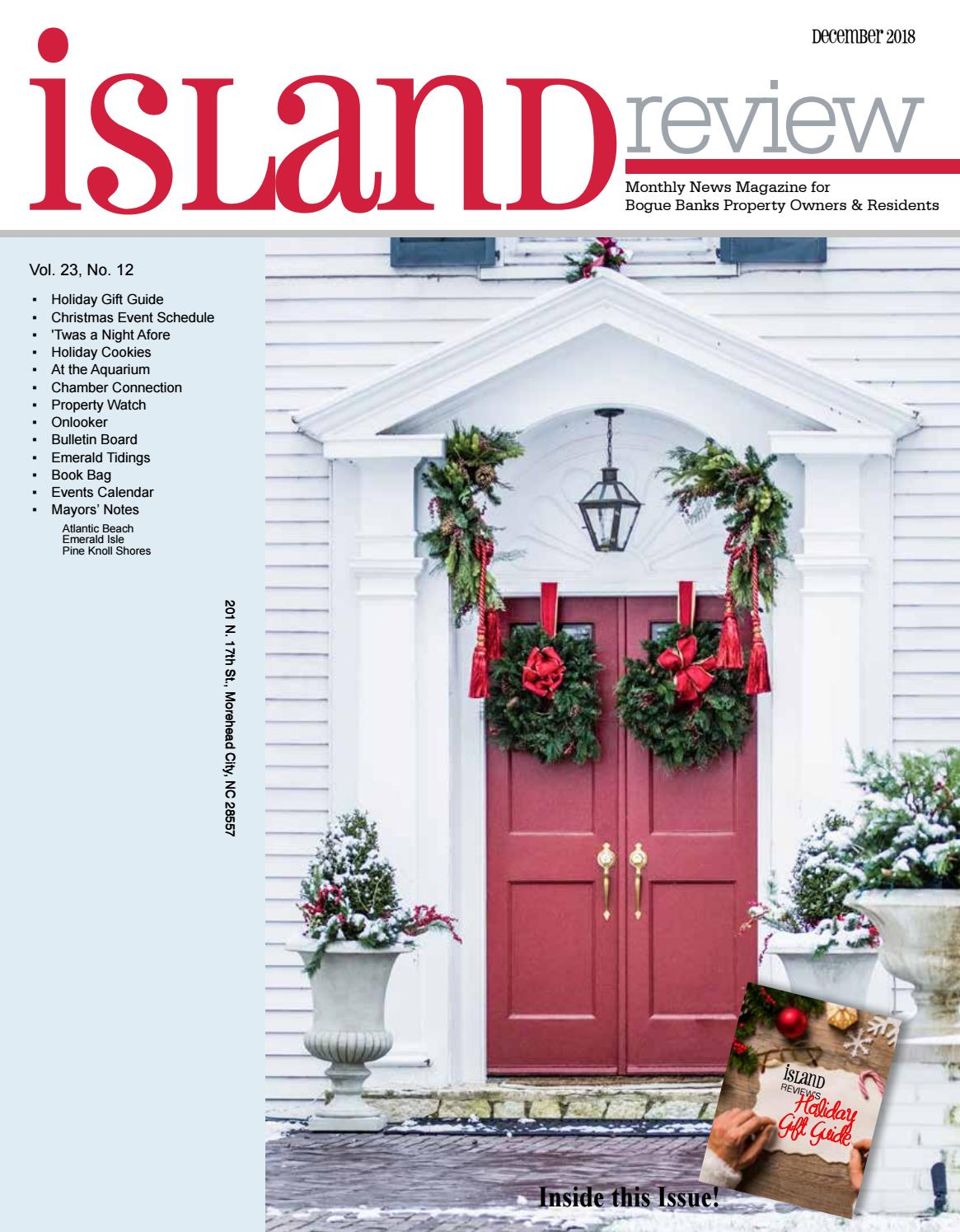 Island Review, December 2018 by NCCOAST - issuu