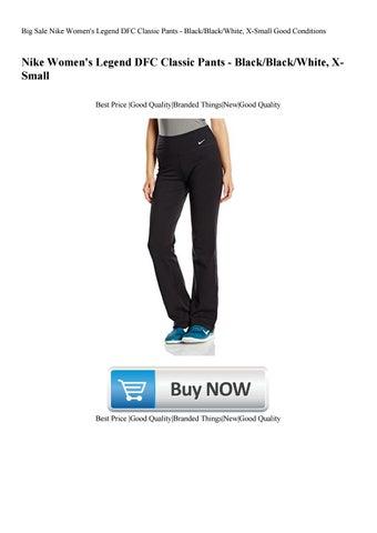 4cb5d4bc813b67 Big Sale Nike Women's Legend DFC Classic Pants - BlackBlackWhite X-Small  Good Conditions