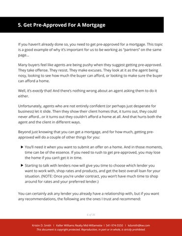 Page 8 of First step for Buying a Home