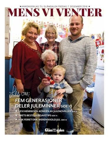 4528de8f Glåmdalens Juleavis - Mens vi venter by Amedia Annonseproduksjon AS ...