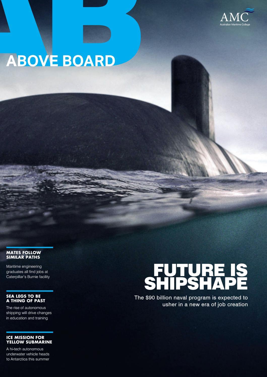 Above Board Summer Edition December 2018 by Australian Maritime
