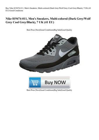 new style 1cf1d cfa14 Buy Nike 819474-011 Men s Sneakers Multi-colored (Dark GreyWolf Grey Cool  GreyBlack) 7 UK (41 EU