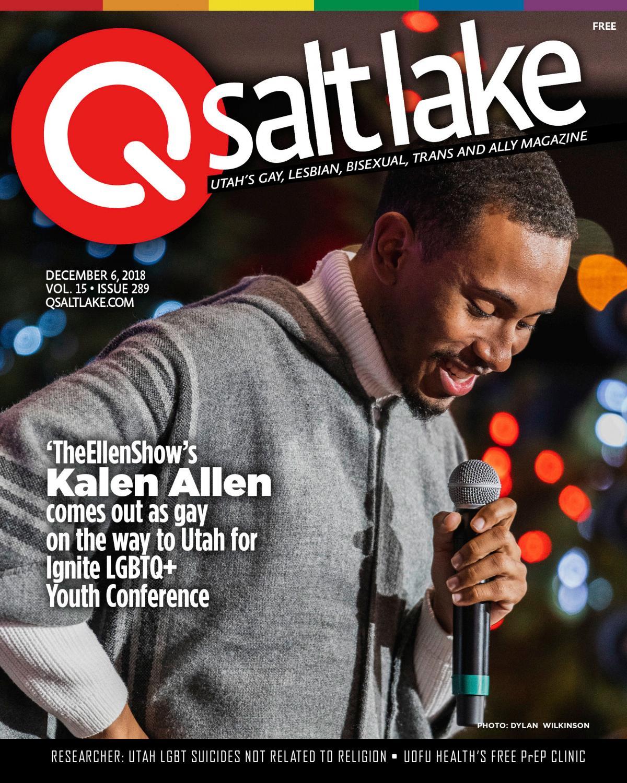 QSaltLake Magazine - 289 - Dec  7, 2018 by QSaltLake