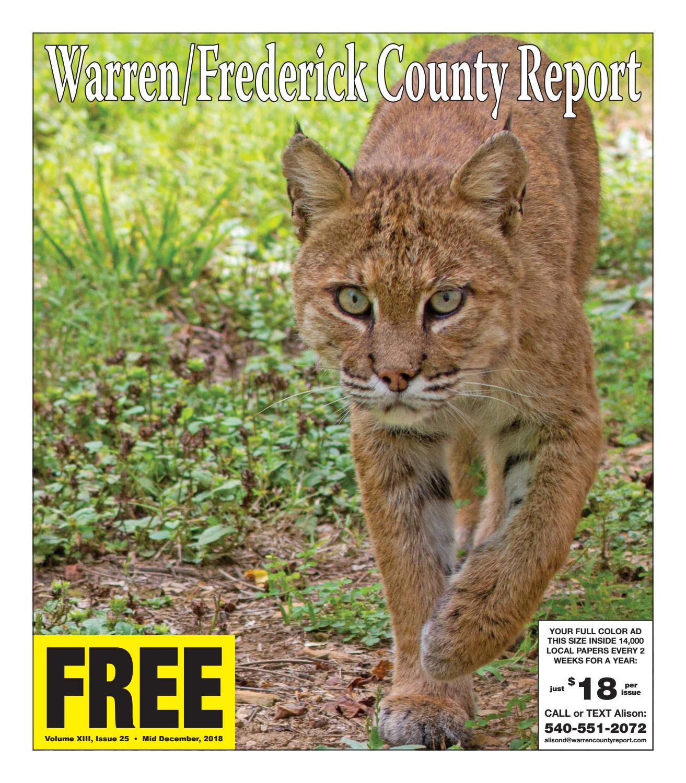 Mid December 2018 Warren/Frederick County Report by Warren
