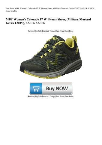 309874903afa Best Price MBT Women s Colorado 17 W Fitness Shoes (MilitaryMustard Green  1210Y) 6.5 UK 6.5 UK Go