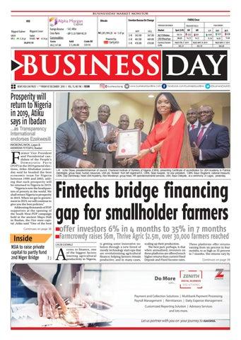 BusinessDay 07 Dec 2018 by BusinessDay - issuu