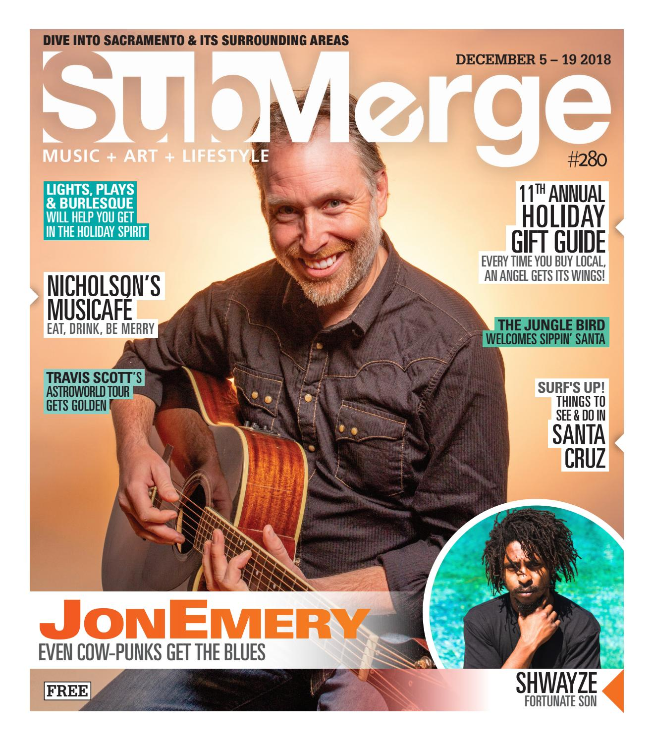 Submerge Magazine: Issue 280 (December 5 - December 19, 2018
