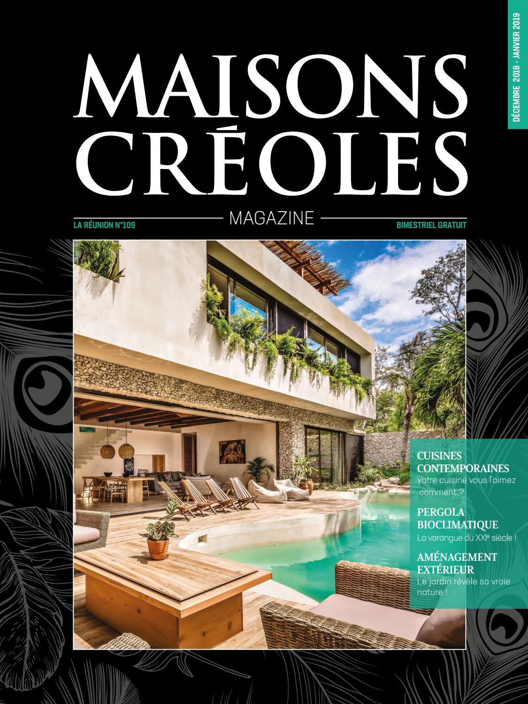 Maisons Maisons Magazine Réunion by Magazine N°109 Créoles Aq4RL3j5