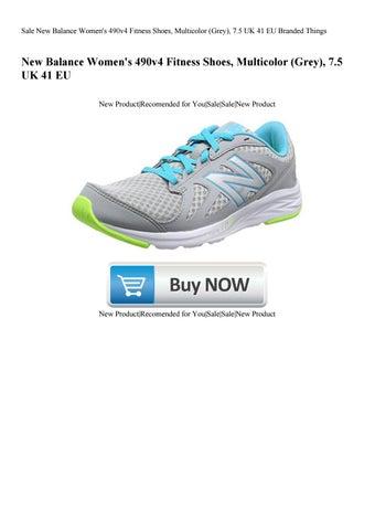 Buena suerte Colaborar con Vatio  Sale New Balance Women's 490v4 Fitness Shoes Multicolor (Grey) 7.5 UK 41 EU  Branded Things by Mckenna Trevino - issuu