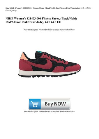 save off 240b9 a0f50 Sale NIKE Women s 828403-004 Fitness Shoes (BlackNoble RedAtomic PinkClear  Jade) 44.5 44.5 EU Good