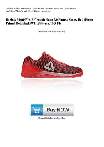 201dbcb025dd4a Discount Reebok Men's R Crossfit Nano 7.0 Fitness Shoes Red (Rosso Primal  RedBlackWhiteSilver) 1