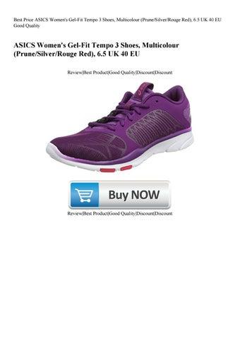 Best Price ASICS Women's Gel Fit Tempo 3 Shoes Multicolour