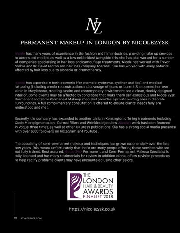 Page 18 of Everything You Have Ever Wanted to Know About Permanent Makeup