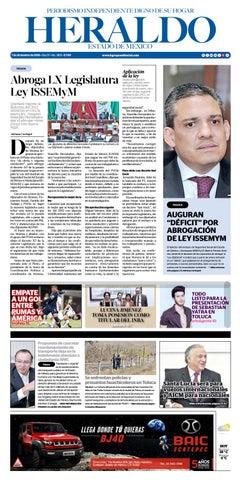 Viernes 7 de Diciembre 2018 by Heraldo Estado de México - issuu e6897c42c4f18