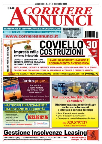 new style d6477 c1bde Corriere 47-2018 by Corriere Annunci - issuu