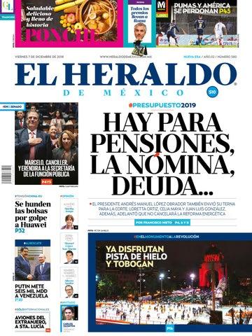 7 de diciembre de 2018 by El Heraldo de México - issuu 30d1ab35e09