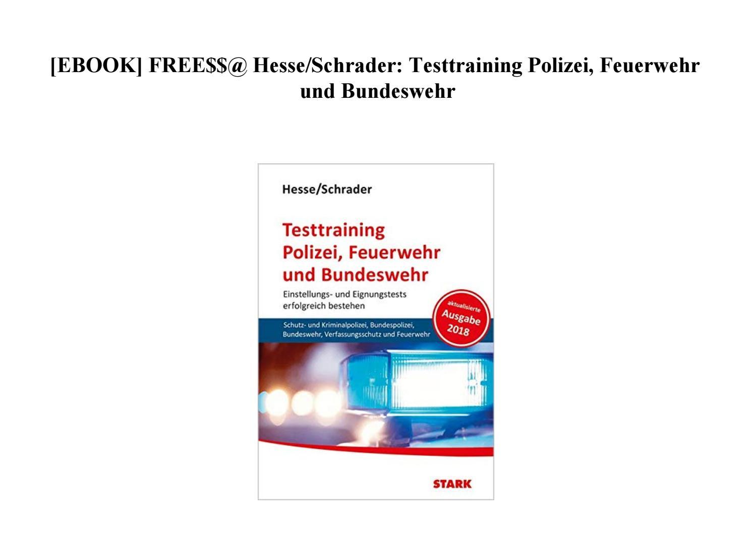 Hesse Schrader Ebook