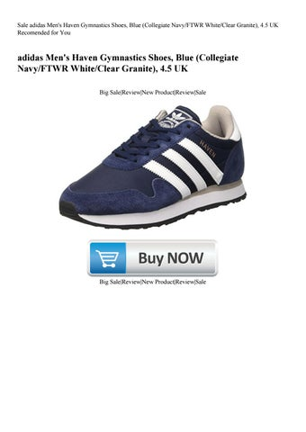 Sale adidas Men s Haven Gymnastics Shoes Blue (Collegiate NavyFTWR  WhiteClear Granite) 4.5 UK Reco da9fd454d