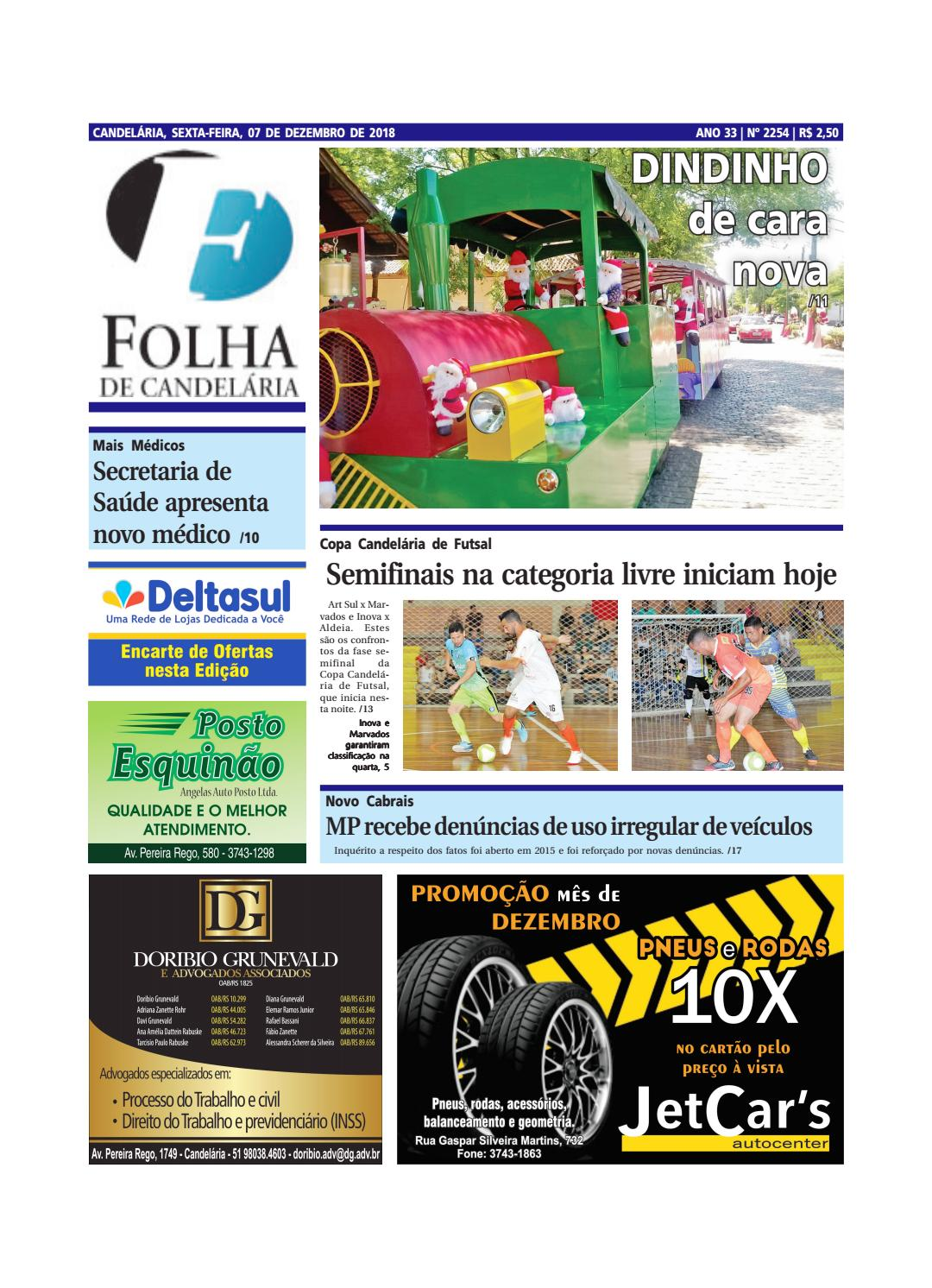 768368b8881 Edição nº 2254 (07 12 2018) by Folha de Candelária - issuu