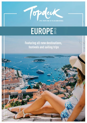 Aud Topdeck Europe 1920 By Topdeck Travel Issuu