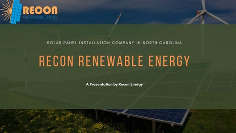Page 1 of Complete Guide on Solar Energy in North Carolina