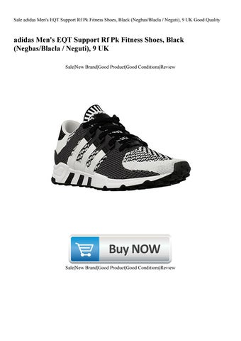 huge discount b7240 c3d27 Sale adidas Mens EQT Support Rf Pk Fitness Shoes, Black (NegbasBlacla   Neguti), 9 UK Good Quality