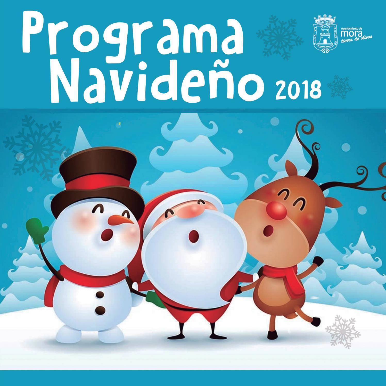 Como Decorar Una Zambomba De Navidad.Programa Navidad 2018 By Ayuntamiento De Mora Issuu