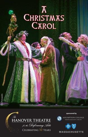 A Christmas Carol Program 2018 by TheHanoverTheatre - issuu