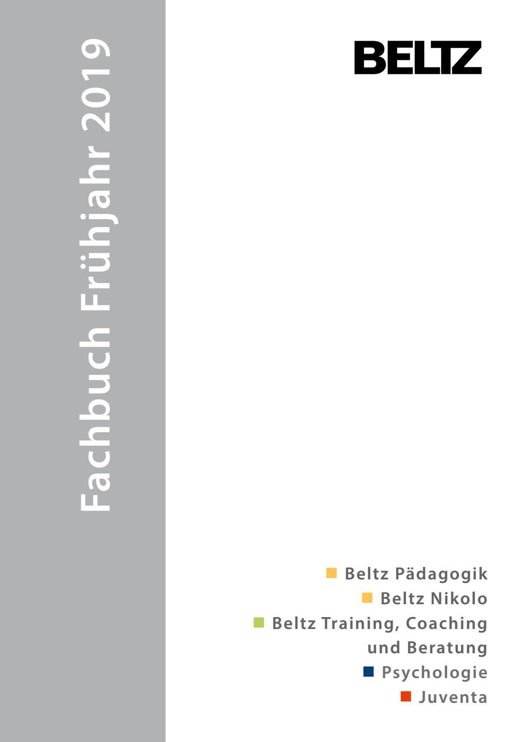 Fachbuch Vorschau Frühjahr 2019 by Verlagsgruppe Beltz - issuu