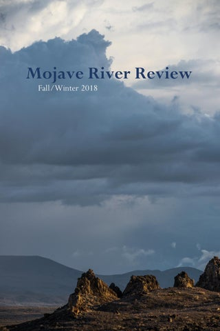 Mojave River Review fall/winter 2018 by Mojave River Media - issuu