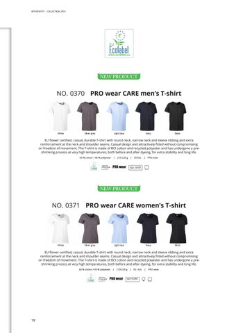 Page 18 of PROwear CARE with Ecolabel by Finstral