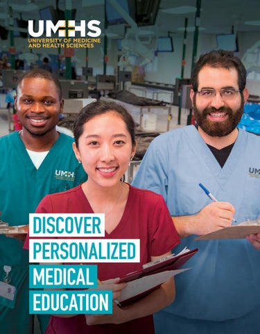 University of Medicine and Health Sciences viewbook by