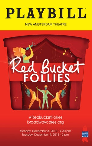 08f0f756da6 Red Bucket Follies 2018 program by Broadway Cares Equity Fights AIDS ...