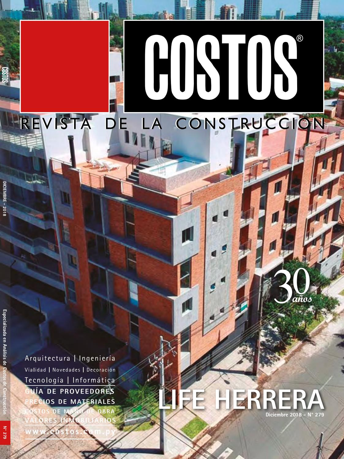 Edición  279 - Diciembre 2018 by Revista Costos (Paraguay) - issuu bceb6534faab