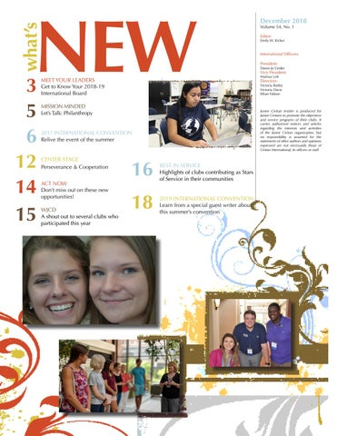 Page 2 of The Junior Civitan Indiser: December Edition