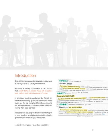 Page 3 of Restaurants Acoustic Treatment Guidelines